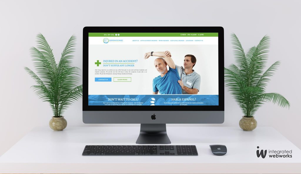 Chiropractic Injury Solutions New Website