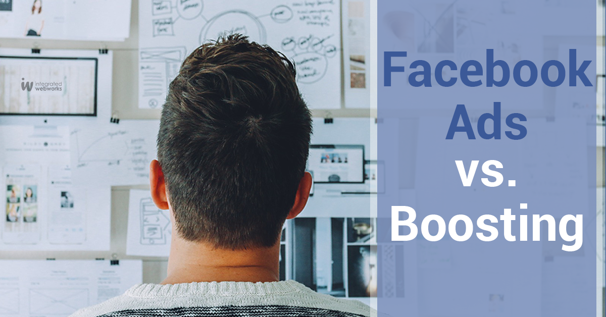 Facebook ads vs Boosting
