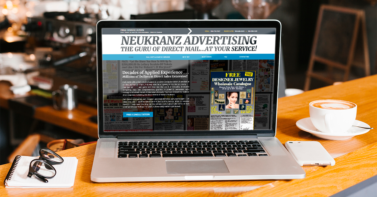 Neukranze Advertising Website Preview
