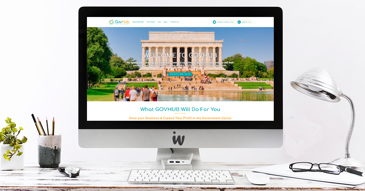 GovHub Website Design & Development